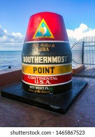 Key West Florida, Southernmost point in continental USA. 90 miles to Cuba.
