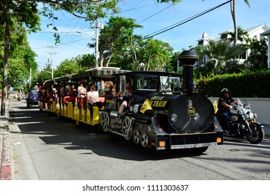 KEY WEST, FLORIDA, USA-JUNE 10:  The Annual Key West Gay Pride Parade on June 10, 2018, held in Old Town Key West.