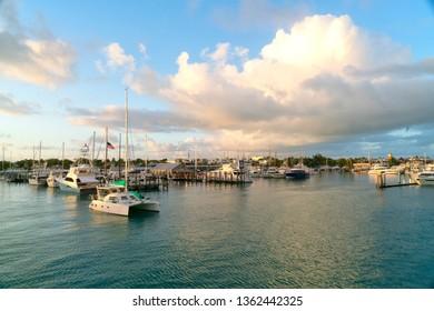 Key West Marina at Sunrise