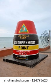 Key West, Southernmost Point, Florida, USA