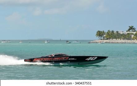 KEY WEST-NOVEMBER 13: Super Boats International World Offshore Powerboat Championships, November 13, 2015 in Key West, Florida.