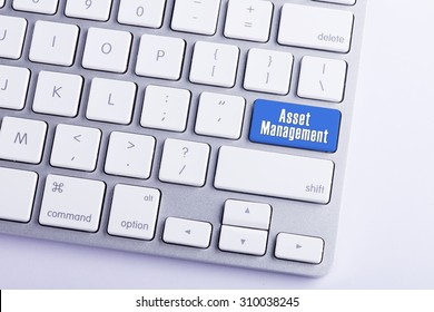 Keyboard with Asset Management Button