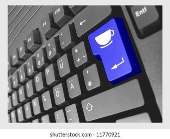 keyboard break