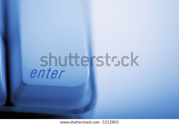 Keyboard with Enter botton