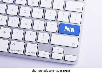 Keyboard with Hotel Button