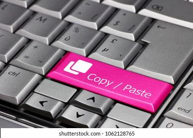 keyboard key - copy / paste