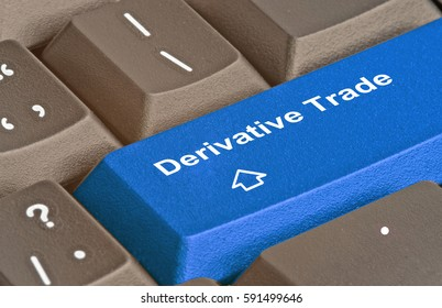 Keyboard with key for derivative trade