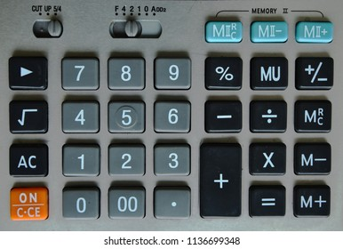 keyboard of ofiice calculator