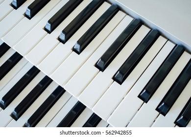 Keyboard top view