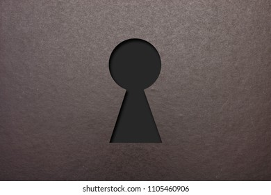 A keyhole illustration