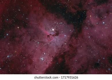 The Keyhole Nebula in the Constellation Carina