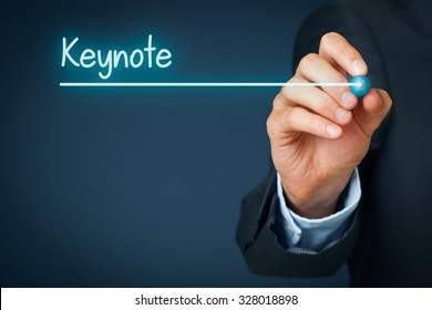 Keynote heading - background template for business presentation.