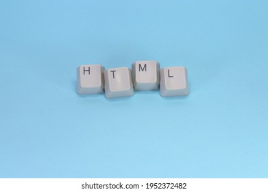 The keys of H, T, M and L have given on the blue background  The key have as the sign of the network.