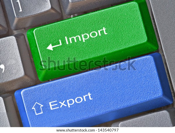Keys for import and export