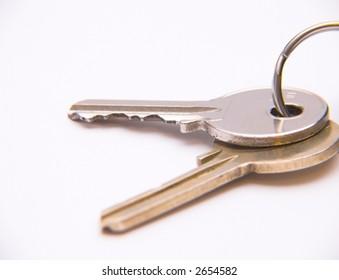 keys (isolated)