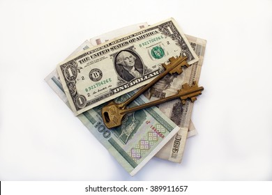Keys and money