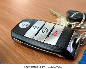 Keys on Keychain