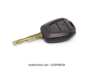 Keys for starting a car.