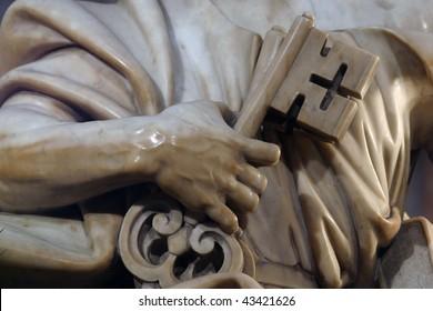 Keys, a symbol of Saint Peter