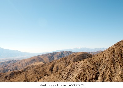 keys view of desert mountains