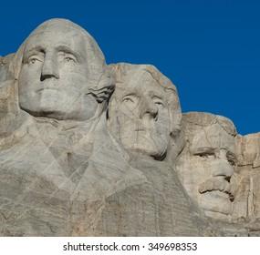 KEYSTONE, SOUTH DAKOTA - OCTOBER 312: Mount Rushmore National Memorial on October 31, 2015 near Keystone, South Dakota