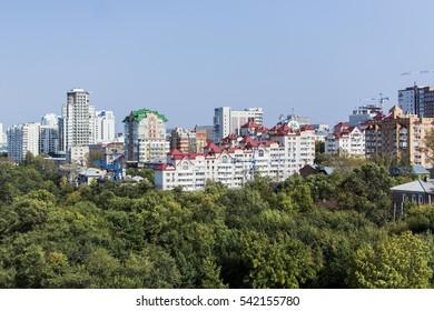 Khabarovsk city.