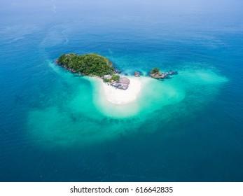Khai island in Phuket