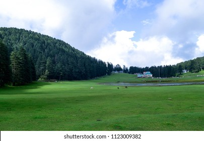 Khajjiar  is a hill station in Chamba district, Himachal Pradesh, India, located approximately 24 km from Dalhousie
