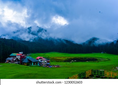 Khajjiar Mini Switzerland Khajjiar is a hill station in Chamba district, Himachal Pradesh, India, located approximately 24 km from Dalhousie.