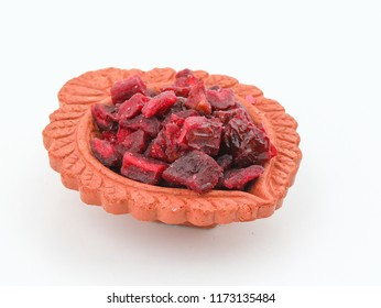 Khajur Supari, indian traditional digestive food good to eat after lunch or dinner, also serve in festival of diwali, holi, and for guest