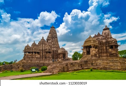 The Khajuraho Group of Monuments is a group of Hindu, Buddhist and Jain temples in Madhya Pradesh, India.It is famous for its ancient temples that depict some of the finest art in the world.