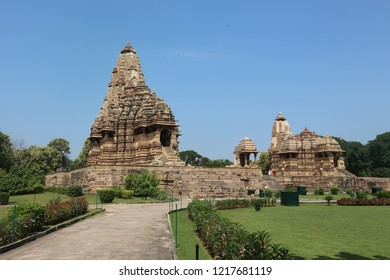 Khajuraho Group of Monuments (India's Temples of Sex) a group of Hindu, Buddhist and Jain temples in Madhya Pradesh, India, about 175 kilometres southeast of Jhansi.