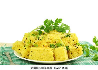 Khaman dhokla indian food