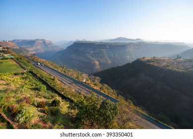 Khandala hills valley Maharashtra India Southeast Asia