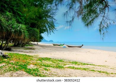 Khanom Beach, Gulf of Thailand coast, Nakhon Si Thammarat province.