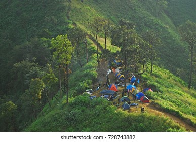 Khao Chang Phueak is a mountain with in Thong Pha Phum National Park in Kanchanaburi, Thailand.It is a place to relax and camping everyone.