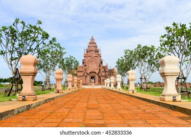 khao Phanom Rung castle,Prasat Hin Phanom Rung is a Khmer temple complex set on the rim of an extinct volcano at 402 metres (1,319 ft) elevation, in Buriram Province in the Isan region of Thailand.