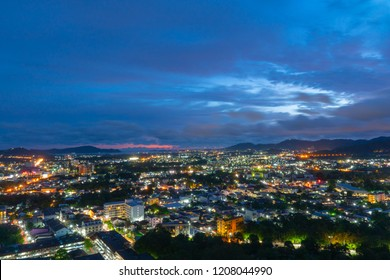 Khao Rang viewpoint locate on the top of Khao Rang mountain in the middle of Phuket town.on Khao Rang viewpoint can see around Phuket city many tourists come to see sunset and light of Phuket at night