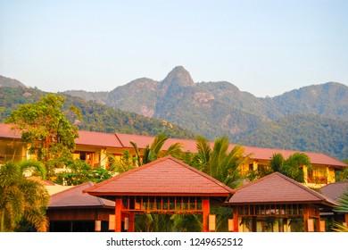 Khao Salak Phet Mountain. Koh Chang Island. Thailand