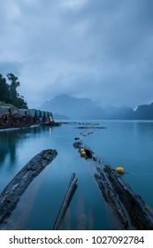 Khao Sok National Park (Chiew Lan, Ratchaprapa Dam), Thailand at dawn