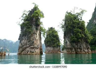 Khao Sok Natual Park of Thailand is the most beautiful rain forest with great diversity of plants and wildlife