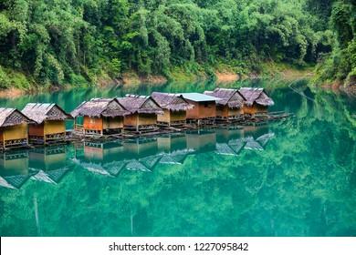 Khao Sok tiny houses on water