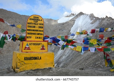 Khardung La is a mountain pass in the Ladakh region of the Indian state of Jammu and Kashmir.