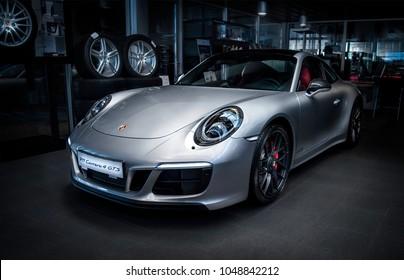 Kharkiv, Ukraine, 24.02.18 Porsche carrera 4 gts