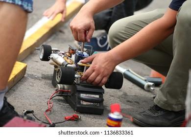 Imágenes, fotos de stock y vectores sobre Rc Model Jump | Shutterstock