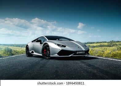 Kharkiv, Ukraine - June 2019: Lamborghini Huracan Avio (1 of 250)