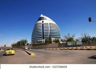 Khartoum / Sudan - 18 Feb 2017: Corinthia Hotel Khartoum, Sudan