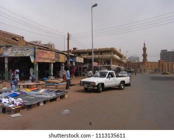 KHARTOUM,  SUDAN - CIRCA MAY 2010 : CITYSCAPE of KHARTOUM.