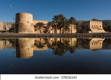 Khasab castle, Musandam peninsula, Oman, Arabia