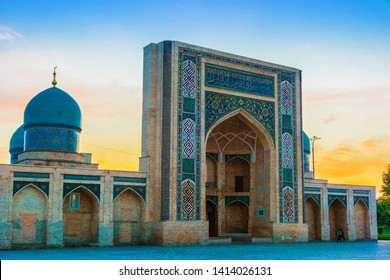 Khast Imam Mosque, major tourist destination in Tashkent, Uzbekistan